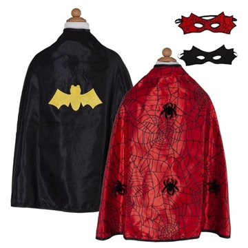 Vendekappe spider/batman