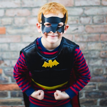 Vendbart superman/batman-kostume fra Great Pretenders